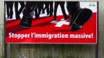 'Stop mass immigration!' - one of the SVP's referendum campaign posters.