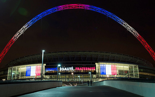 Wembley, Paris.